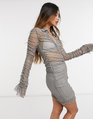 Steele Kata dress in grey