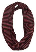 Vans Women's Rainie Circle Infinity Scarf-Burgundy/Black-OS