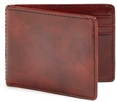Bosca Men's Small Bifold Wallet - Brown