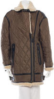 Burberry Quilted Shearling Jacket
