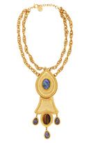 Ben-Amun Ben Amun Bohemian Necklace with Double Chain
