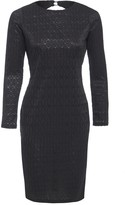 Sarvin Morena Long Sleeve Backless Lace Dress