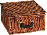 Household Essentials Willow Picnic Basket - Service for 2