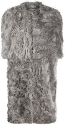 Stella McCartney Fur Free Fur shaggy coat