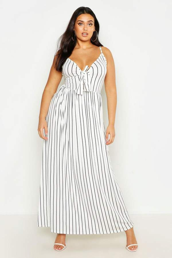 98f78a4d65 Knotted Front Maxi Dress - ShopStyle