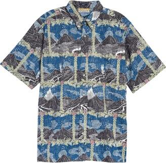 Reyn Spooner Hawai'i Volcanoes National Park Short Sleeve Button-Down Shirt