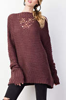 Easel Sweater Knit Tunic