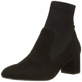 Karen Millen Fashions Limited Women's Suede Block-Heel Boots Ankle