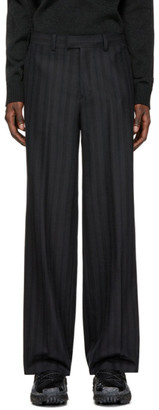 Undercover Black Striped Trousers