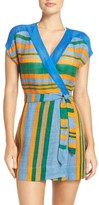 Diane von Furstenberg Women's Cover-Up Wrap Dress