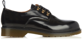 Ami Leather lace-up derby shoes