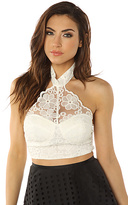 Reverse The Lace Eyelet Bustier