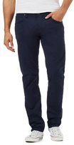 Lee Navy Twill Regular Fit Jeans