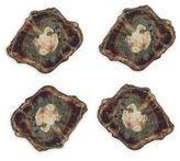 Kim Seybert Fossil Coasters/Set of 4