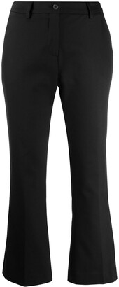 Pt01 Flared Cropped Trousers
