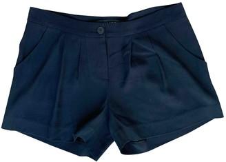 Thakoon Black Silk Shorts for Women