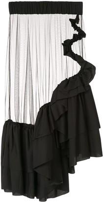 Roberts Wood Sheer Tulle Skirt