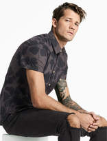Lucky Brand Hibiscus Floral Shirt