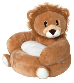 Trend Lab Children's Plush Lion Character Chair Bedding