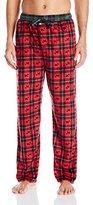 Tommy Hilfiger Men's Brick Silky Fleece Sleep Pant