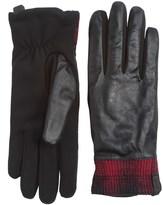 Woolrich Avondale Leather Gloves - Fleece Lined (For Women)