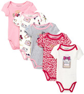 Juicy Couture Juicy Princess Bodysuit Set - Pack of 5 (Baby Girls)