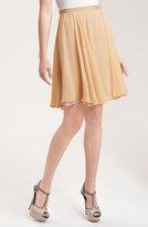 Paper Crown 'Lily' Silk Chiffon Skirt