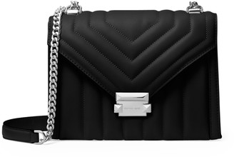 MICHAEL Michael Kors Whitney Large Quilted Leather Convertible Shoulder Bag