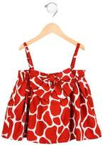 Stella Jean Girls' Giraffe Print Sleeveless Top w/ Tags