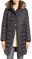 MICHAEL Michael Kors Women's Down Parka With Faux-Fur Trim