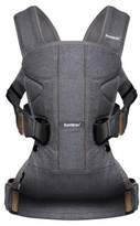 BABYBJÖRN Baby Carrier One Denim Grey Cotton Mix