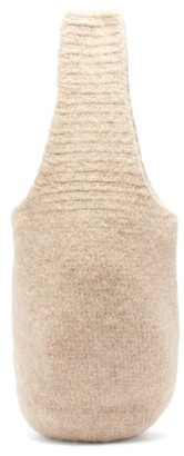 LAUREN MANOOGIAN Calabaza Felted-crochet Tote Bag - Beige