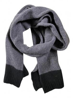 Margaret Howell Grey Wool Scarves