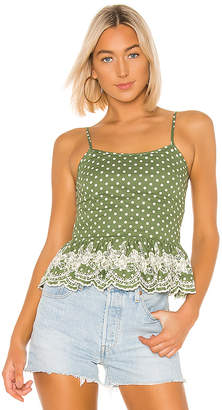 Tularosa Campbell Embroidered Top