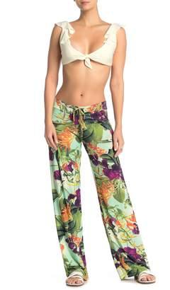 Pilyq Floral Print Lounge Pants