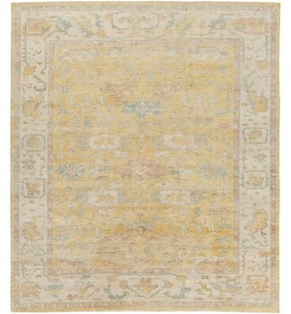 Surya Westchester Gold/Beige Area Rug Rug Size: Rectangle 8' x 10'
