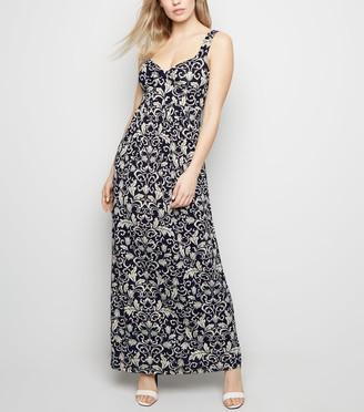 New Look Mela Floral Maxi Dress