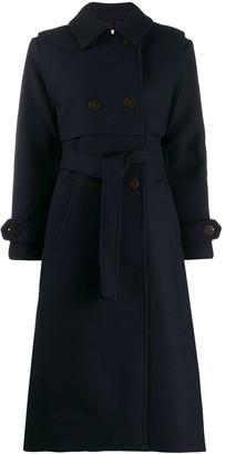 LES COYOTES DE PARIS Celeste belted trench coat