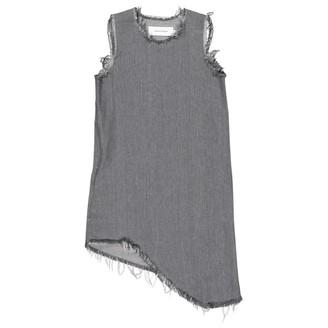 Marques Almeida Grey Cotton Dresses