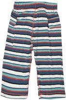 Kickee Pants Print Cargo Pants (Baby) - Goldfish Stripe-0-3 Months