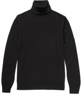 Loro Piana Baby Cashmere Rollneck Sweater - Black