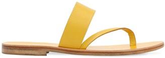 Álvaro González 10mm Leather Thong Sandals