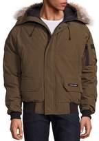 Canada Goose Chilliwack Coyote Fur-Trimmed Jacket