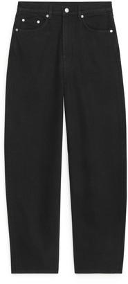 Arket LOOSE Barrel Leg Jeans