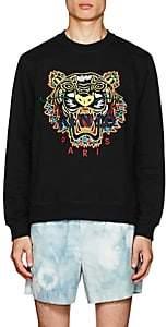 Kenzo Men's Tiger-Embroidered Cotton Sweatshirt - Black