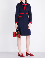 Gucci Bow-detailed wool coat