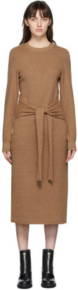 Rag & Bone Beige Alnai Mid-Length Dress