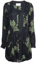 kelly ripa  Who made  Kelly Ripas black and green floral dress?