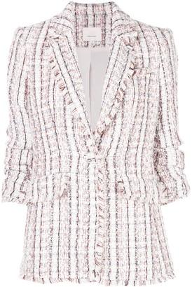 Cinq à Sept Khloe single breasted tweed blazer