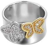 Esprit Gold Butterfly ESRG91729B180 Sterling Silver 925 Ring Size P 1/2